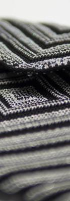 Metallic yarn purses