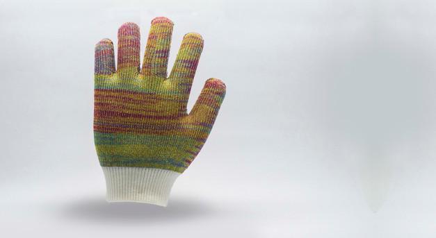 Full knitted Glove