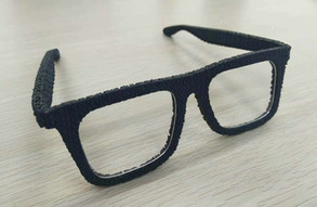 knitted glasses
