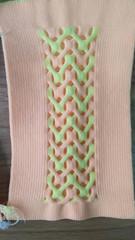 complex knit structure