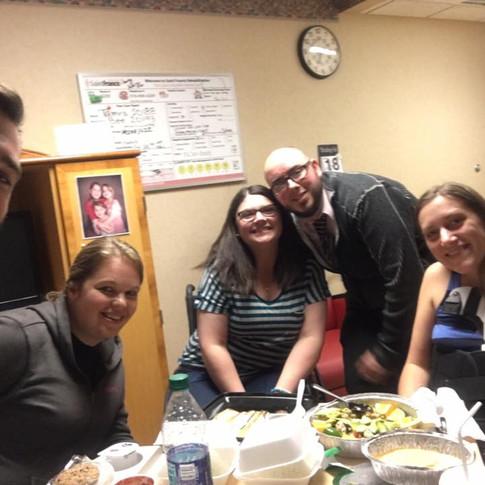 birthday dinner with amazing friends