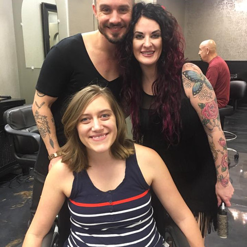 This couple Blessed me with a new hair cut