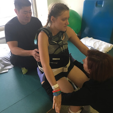 Rehab in the hospital
