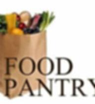 Food Pantry bag of groceries