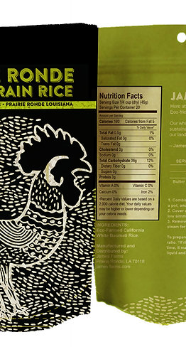 Prairie Ronde Long Grain Rice Rooster 2-lbs