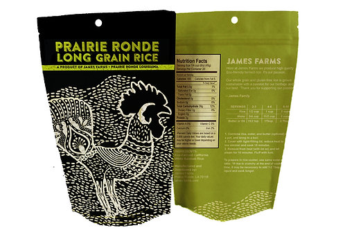 Prairie Ronde Long Grain Rice Rooster 2-lbs