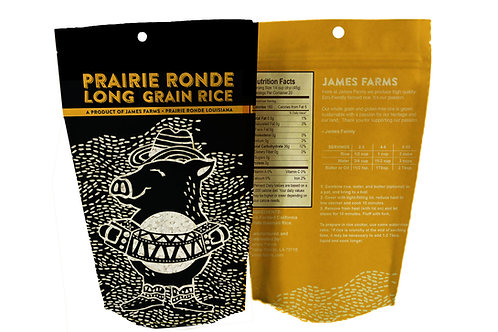Prairie Ronde Long Grain Rice Pig 2-lbs