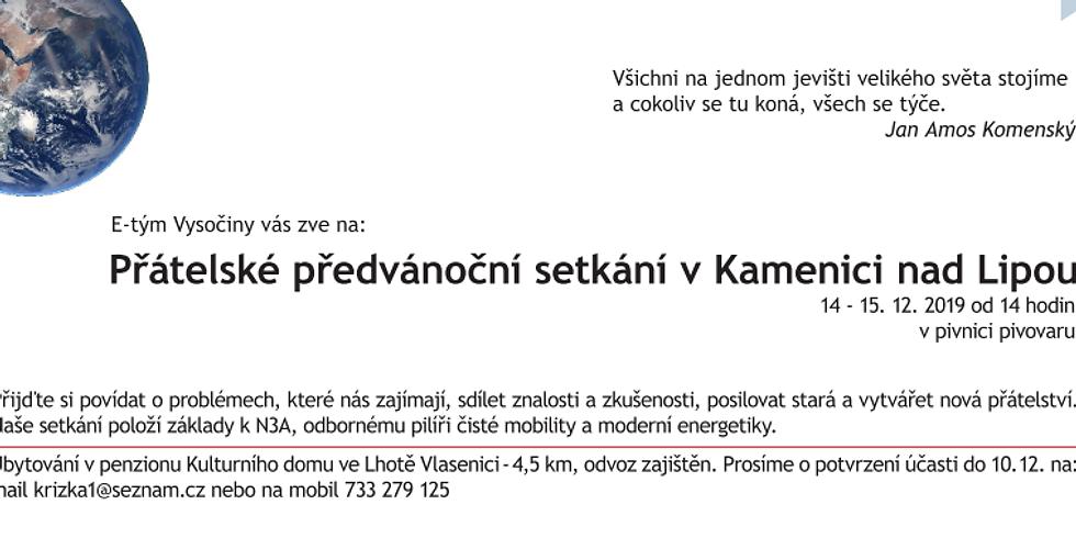 Předvánoční setkání v Kamenici