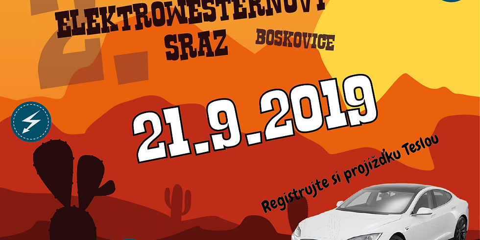 2. Elektrowesternový sraz v Boskovicích