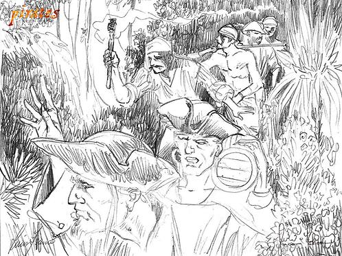 Original TPE illustration signed