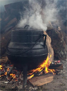 The Pirates Experience cooking