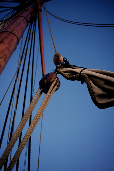 The rig pulley