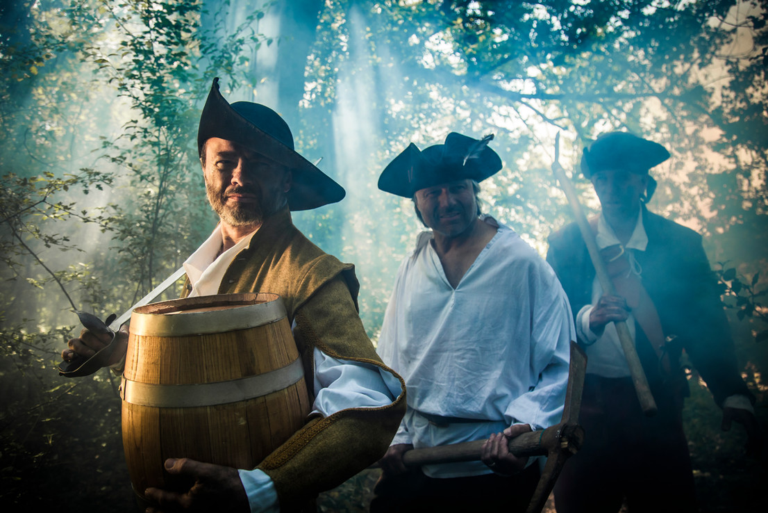 The Pirates Experience barrell