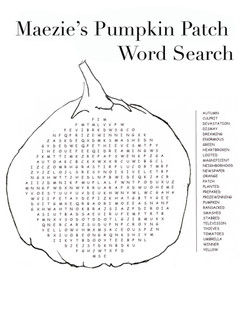 Word Search Advanced
