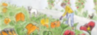 Maezie's Pumpkin Patch detail