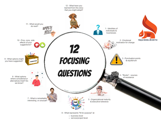 Part 1: 12 Focusing Questions for Agile Coaches