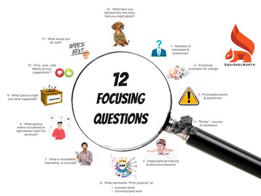 Part 1: 12 Focusing Questions for Agile Coaches