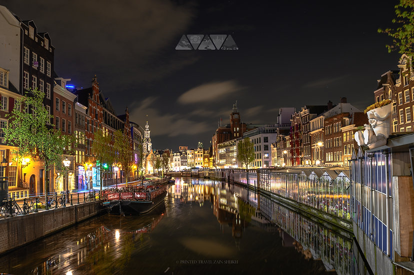 Amsterdam's Night Canals
