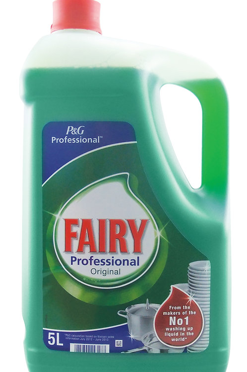 5 LITRES - FAIRY ORIGINAL 5LTR WASH UP LIQUID