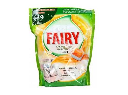 156 x Fairy Orange Dish Washer Tablets