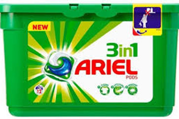 144 x 3 IN 1 ARIEL LAUNDRY PODS