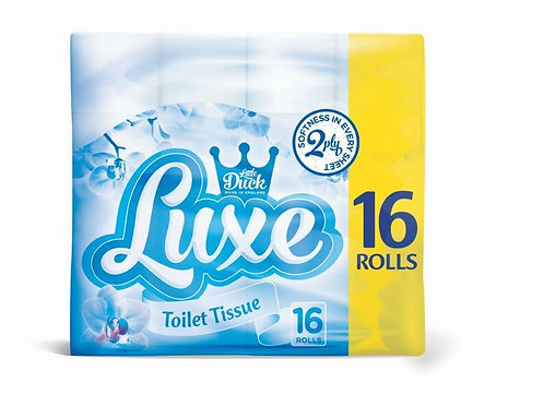 80 x LITTLE DUCK LUXE SOFT 2 PLY TOILET ROLLS + 24 2ply Kitchen rolls