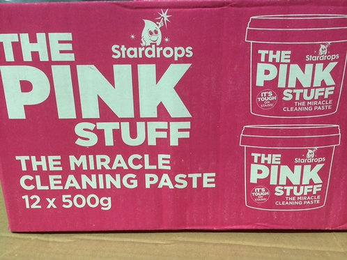 12 x THE PINK STUFF - PASTE - THE MIRACLE CLEANING PASTE