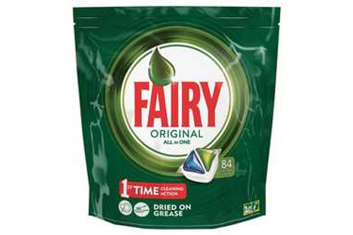 "168 ""FAIRY"" ORIGINAL ALL IN ONE DISH WASHER TABLETS -"