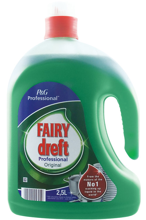2.5 LITRES - FAIRY ORIGINAL PROFESSIONAL 2.5 LTR WASH UP LIQUID