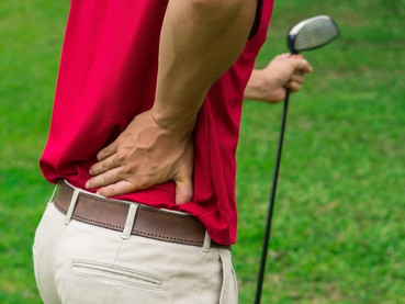 How hip pain hurts your golf game