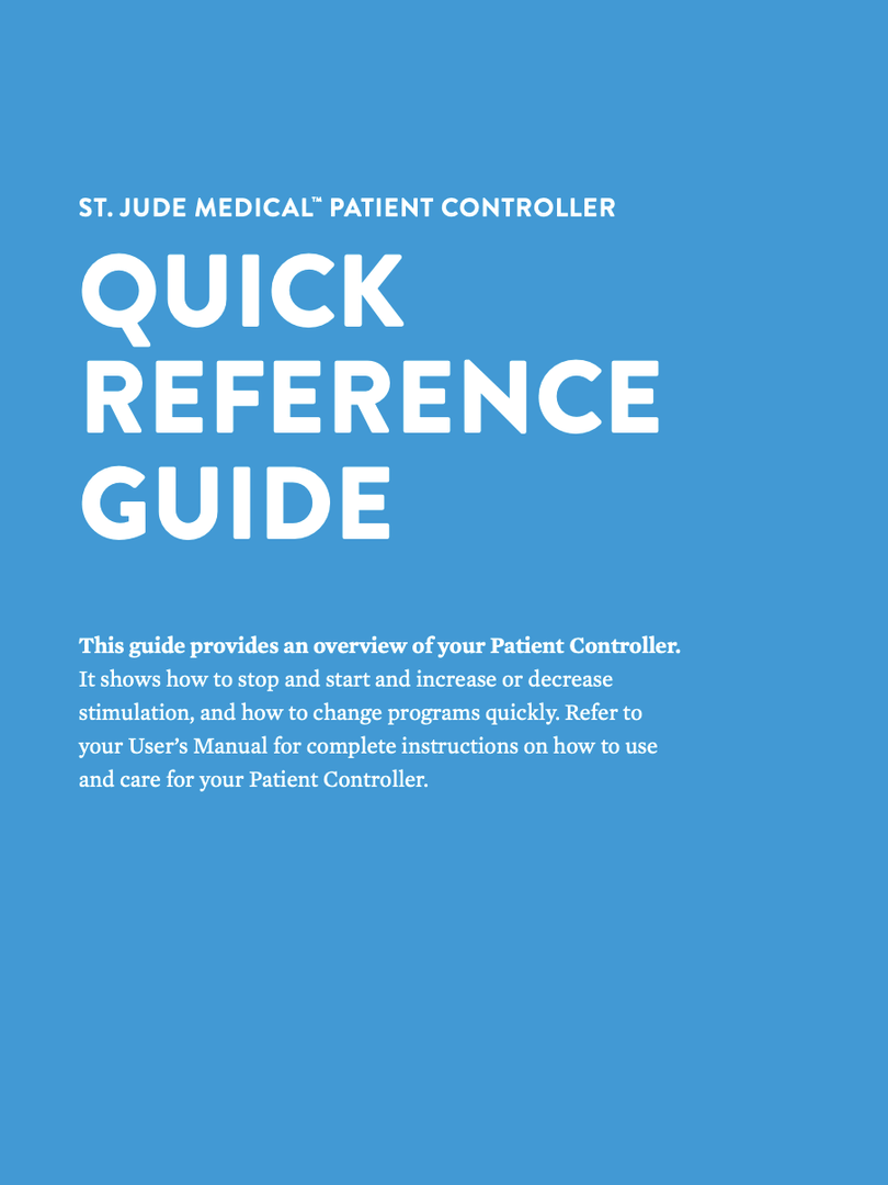 Abbott Patient Remote Reference Guide