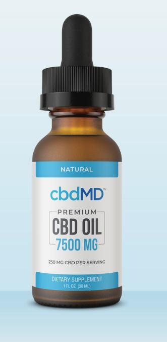 CBD Oil Tincture – 7500 Mg 30 ml