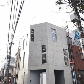 大阪の狭小住宅