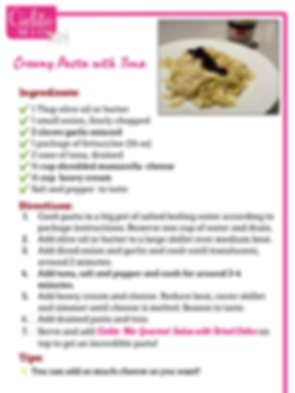 191021 Cielito Mio Recipes - Ceamy Pasta