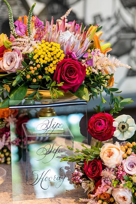 calligraphy styled wedding shoot