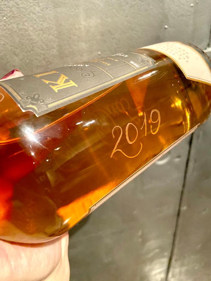 Engraved Whiskey Bottle