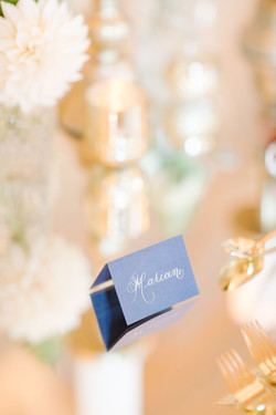 Place Card Calligraphy