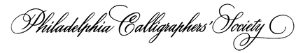 Philadelphia Calligraphers Society
