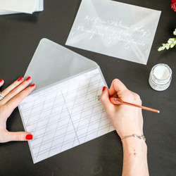 Envelope Addressing Guide Template