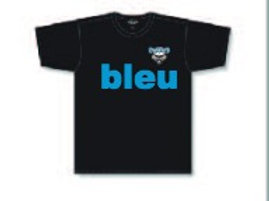 **BLEU** C-9 Chandail A1800 Logo avant