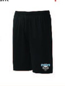 C-5 Short sans poches S355 Écusson (Style basket-ball)