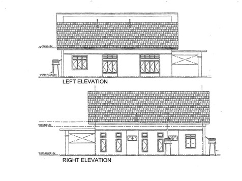Left Right Elevation