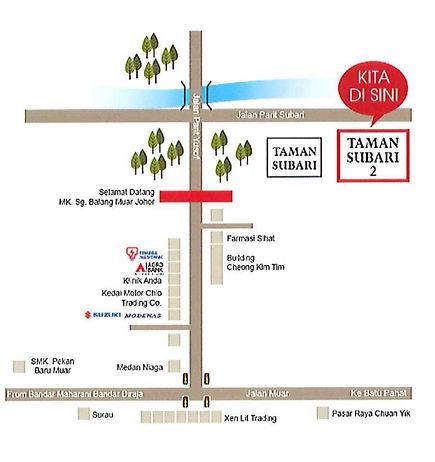 Sunbay Subari Location Plan