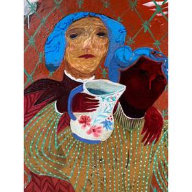 Spring Water Jug,oil,canvas,80x70cm,2020