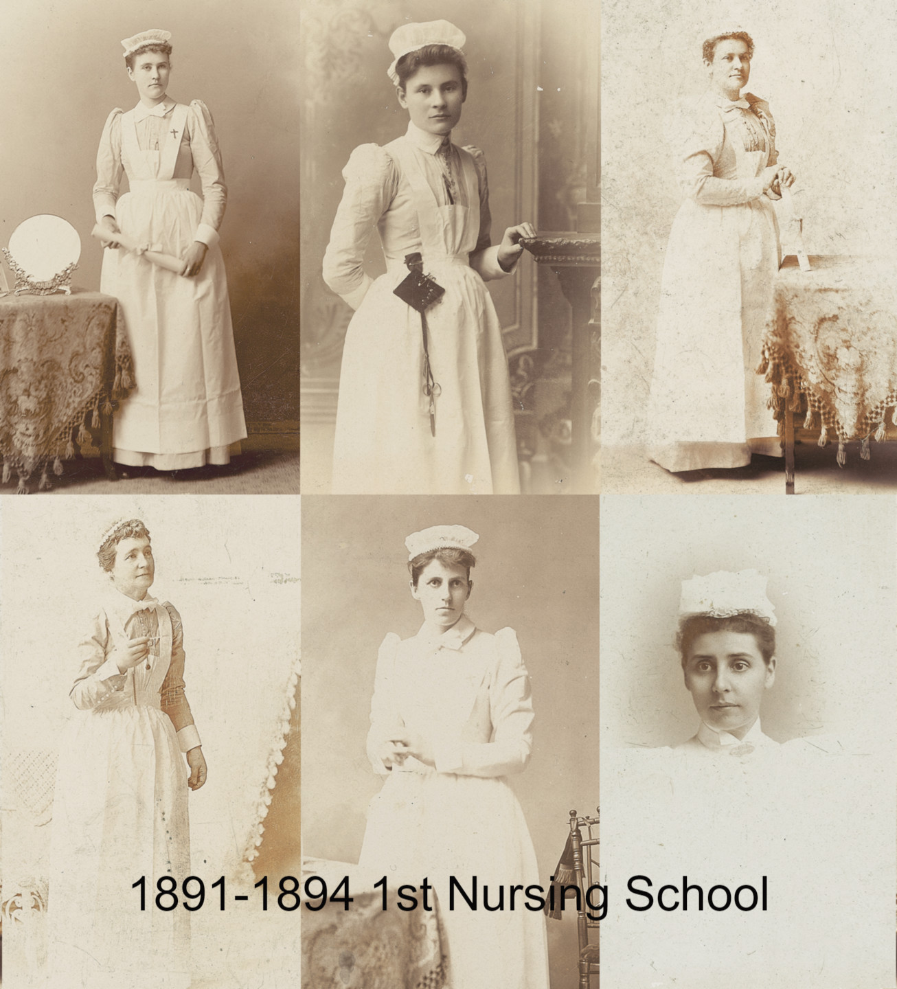 1891-1894-FirstNursingSchool