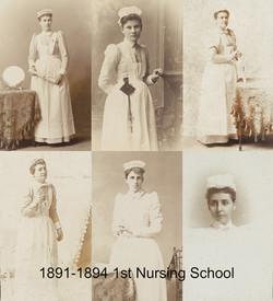 1891-1894-FirstNursingSchool