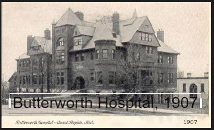 Butterworth Hospital 1907