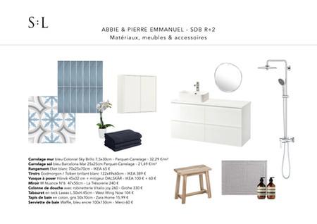 Abbie + Pierre Emmanuel - planche mobili