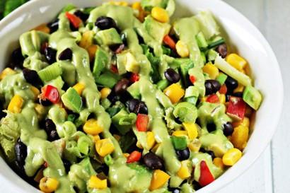 My Spring Go-To Avocado Bean Salad Recipe
