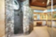 stone-walk-in-shower-rustic-master-bathr